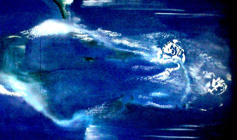 Peintures Série Bleue - Maharaki