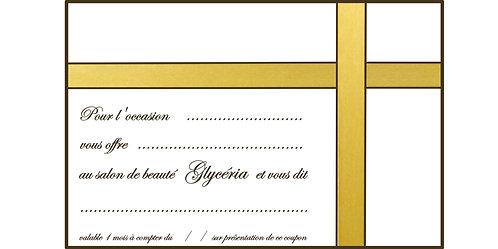 Bon Cadeau - Granité (20')