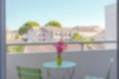 location saisonniere appartement lunel terrasse