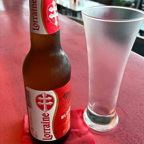 Bière Lorraine | Cloud Bar Lounge | Martinique
