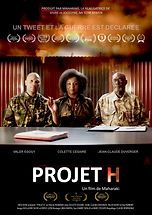 Affiche PROJET H - awards Aout 2021 Maharaki