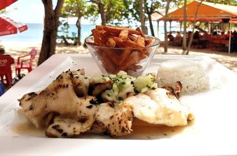 Lambi grillé Restaurant Océane - Sainte-Luce - Martinique