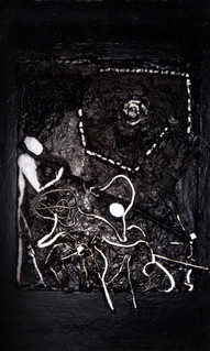 Peintures Série Noire - Maharaki