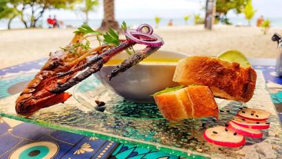 Grillade Restaurant Océane - Sainte-Luce - Martinique