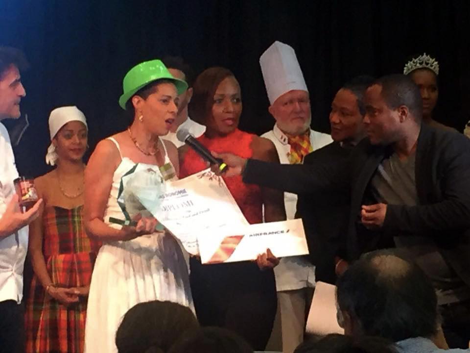 Coeur des iles - récompense prix innovation salon gastronomie outre mer