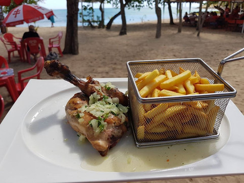 Poulet grillé Restaurant Océane - Sainte-Luce - Martinique