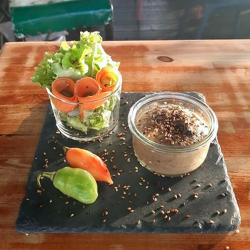Le Cloud | Restaurant Martinique | Caviar d'aubergine