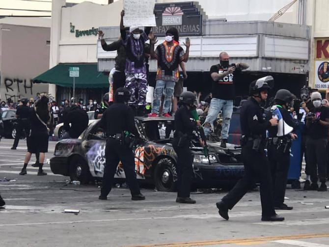 Civil Unrest in Los Angeles
