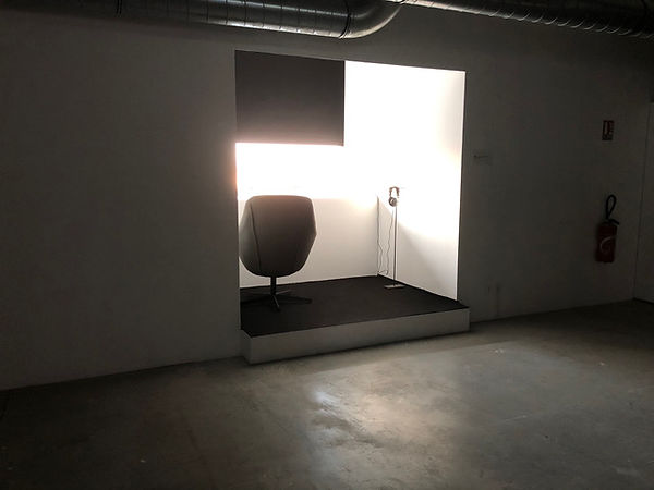 Installation émission invisible IV 2020