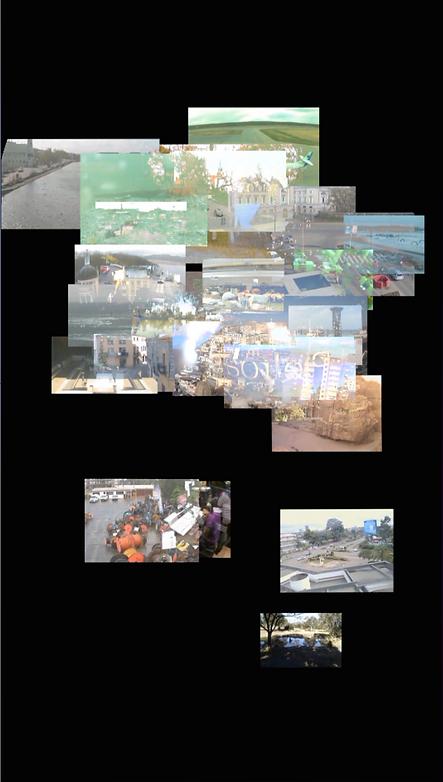 Vision partielle de l'exposition de Pont St Esprit (2014)