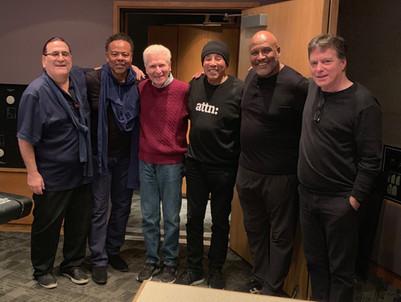 Smokey Robinson and the band.