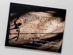 """Livre  """"De la charrue au pain, de l'arbre au violon"""",  poèmes d'Esther Ekezie"""