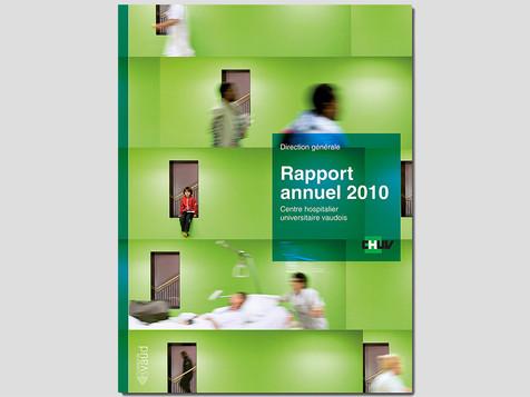 Rapport annuel CHUV
