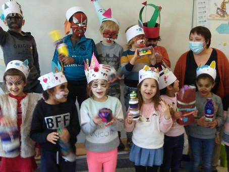 Carnaval in het eerste leerjaar