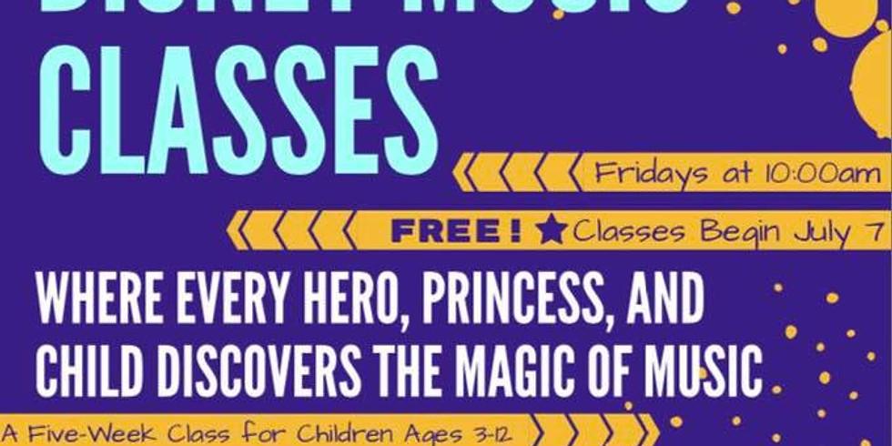 Disney Music Classes