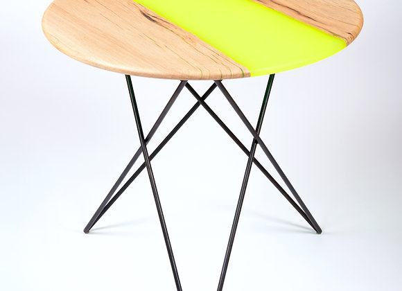 Table VOLIS Jaune fluo