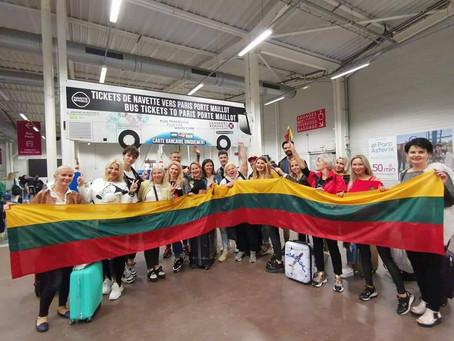 Lietuvių pasirodymas tarptautiniame čempionate Paryžiuje