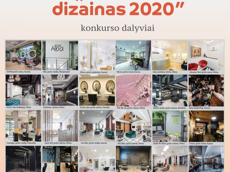 "Konkursas ""Salono dizainas 2020"""