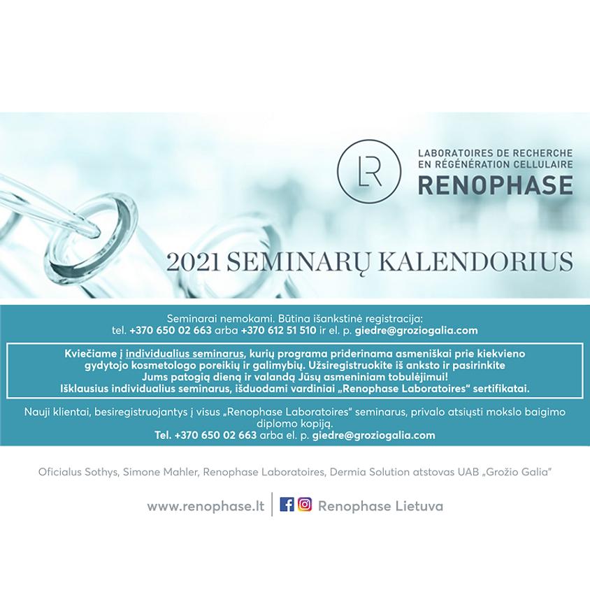RENOPHASE LABORATOIRES seminarai 2021