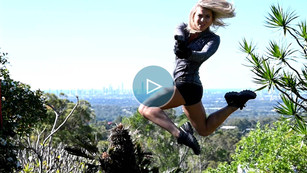 Cover Shoot with stunt woman Ilana Collins - Ocean Road Magazine
