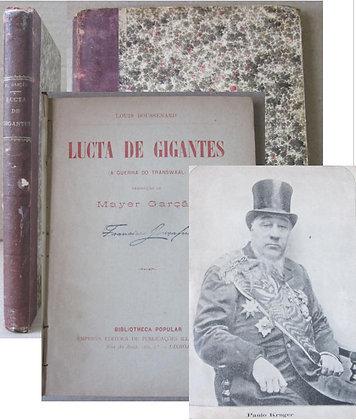 BOUSSENARD (LOUIS) - LUCTA DE GIGANTES