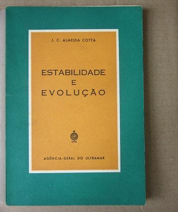COTTA (J. C. ALMEIDA) - ESTABILIDADE E EVOLUÇÃO