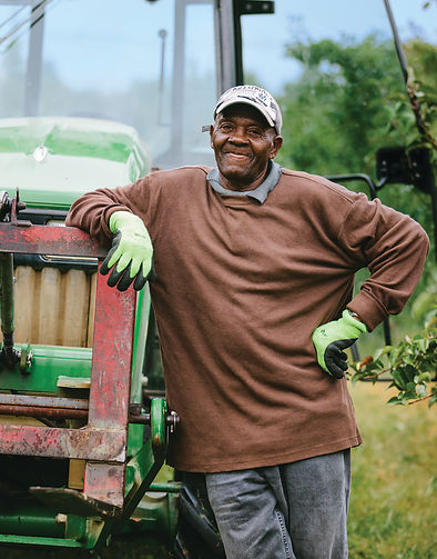 h2a employee on tractor