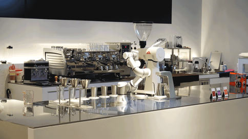 강남N타워 barista robot