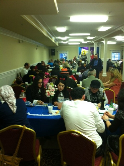 Hanukkah Party -Family price (Parents and children)