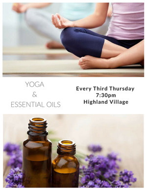 Yoga and Essential Oils - Chakra Series - Throat Chakra