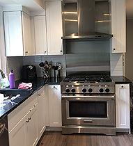 Modern white shaker kitchen renovation