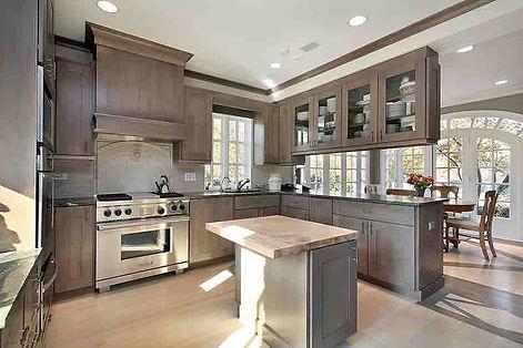 Grey Shaker kitchen renovations
