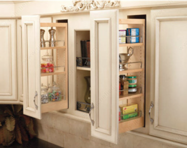 Pull out base cabinets