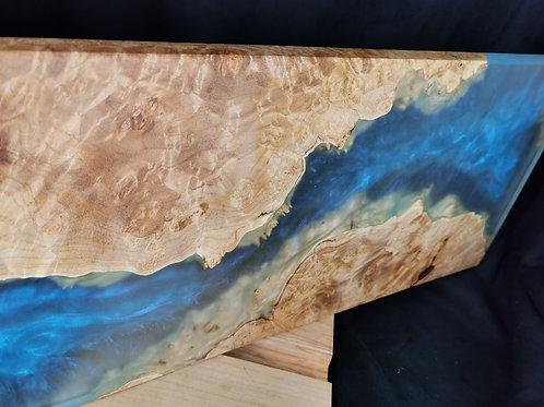 Floating - Maple burl art piece