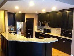 Expresso shaker kitchen renovation