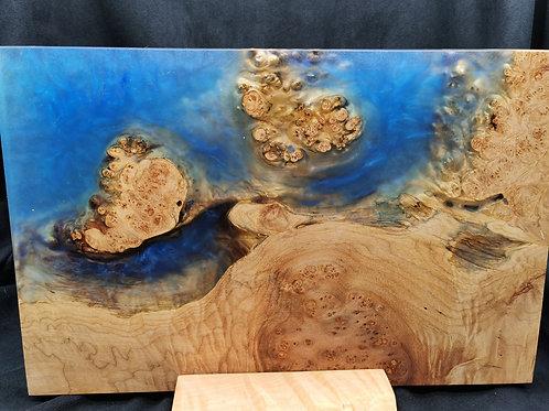 Maple Burl Art Piece - Islands