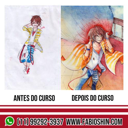Antes e Depois da ex Aluna agora Sensei Carol Itimura