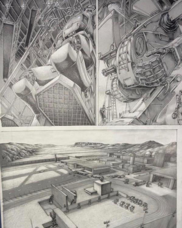 Arte do sensei Mauricio Ossamu
