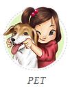 Caricatura com seu Pet.
