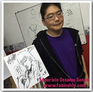 Mangaká Brasileiro no Japao -Mauricio Ossamu - Japan Sunset