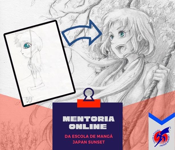 Mentoria online de Mangá