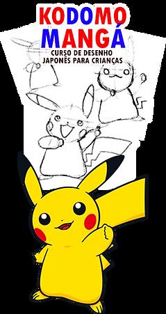 Curso de mangá para crianças - Aula de desenho japonês infantil