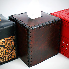 Paul Duesing Lifestyle Tissue Box Cover 100% Hand Crafted by Skilled Artisans