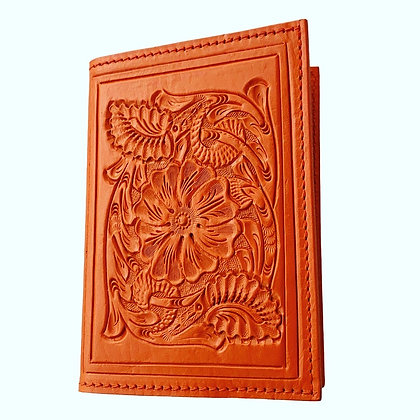 Passport Holder - Baja Orange