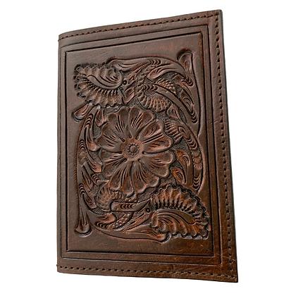 Passpost Holder - Vintage Brown