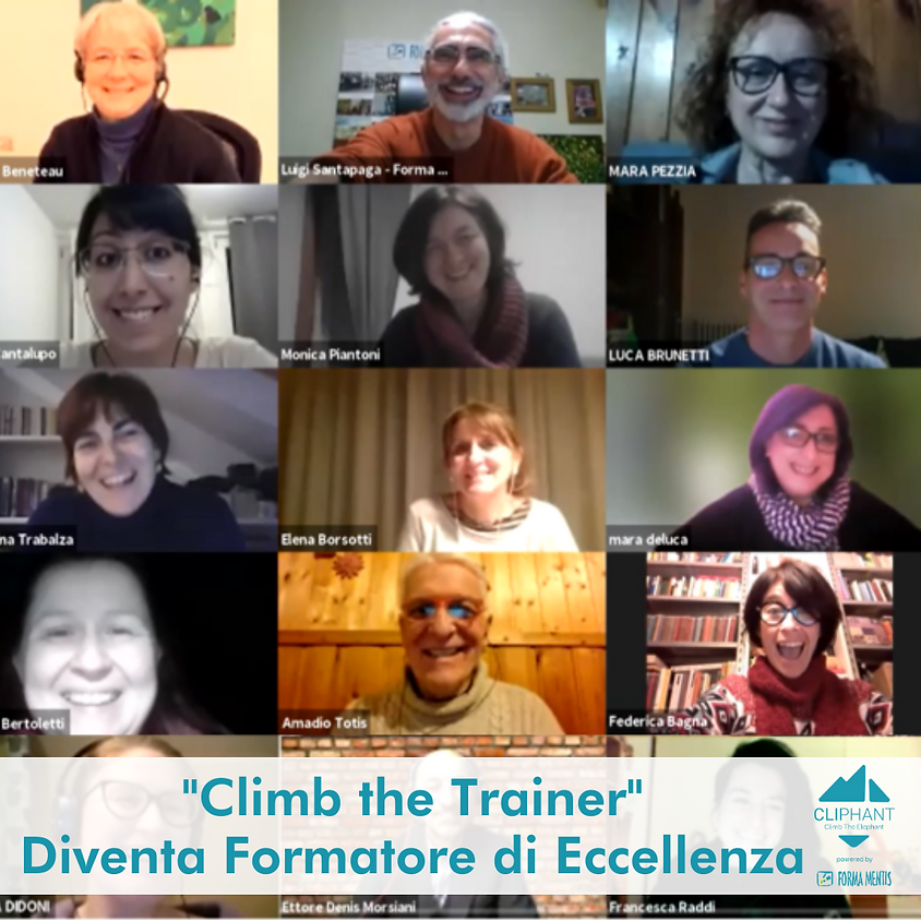 Climb the Trainer - Diventa Formatore di Eccellenza - Maggio 2021
