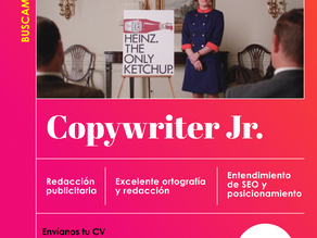 Buscamos Copywriter Jr.