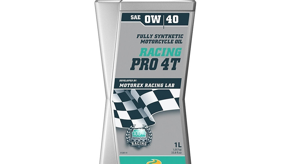 Motorex Racing Pro 4T 0W40 - 1 Litre
