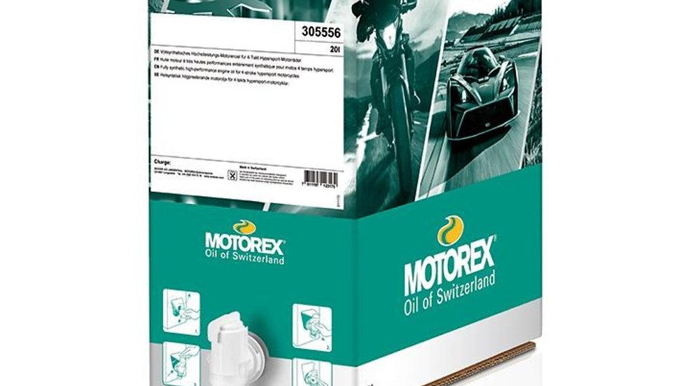 Motorex Cross Power 4T 10W60 - 20 Litre Bag in Box