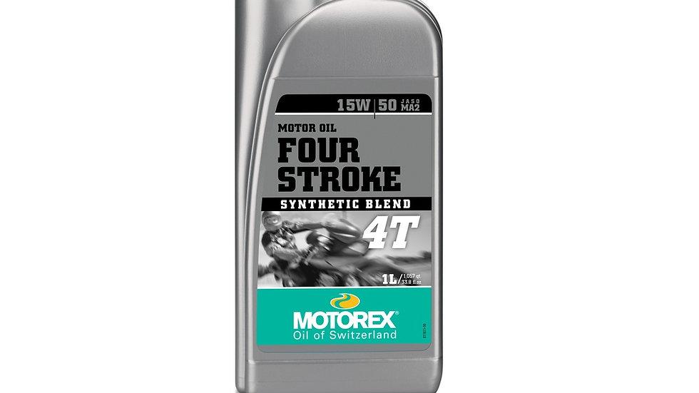 Motorex 4 Stroke 15W50 - 1 Litre